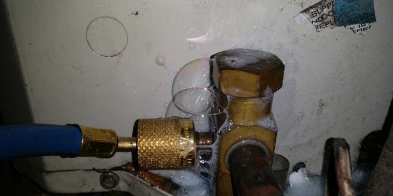 Causes And Solutions To AC Gas Leaks